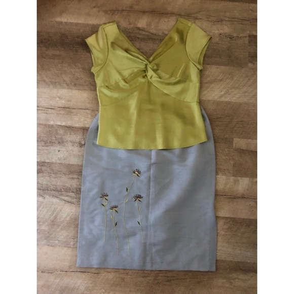 Talbots Tops - 2 Piece Skirt and Blouse Outfit